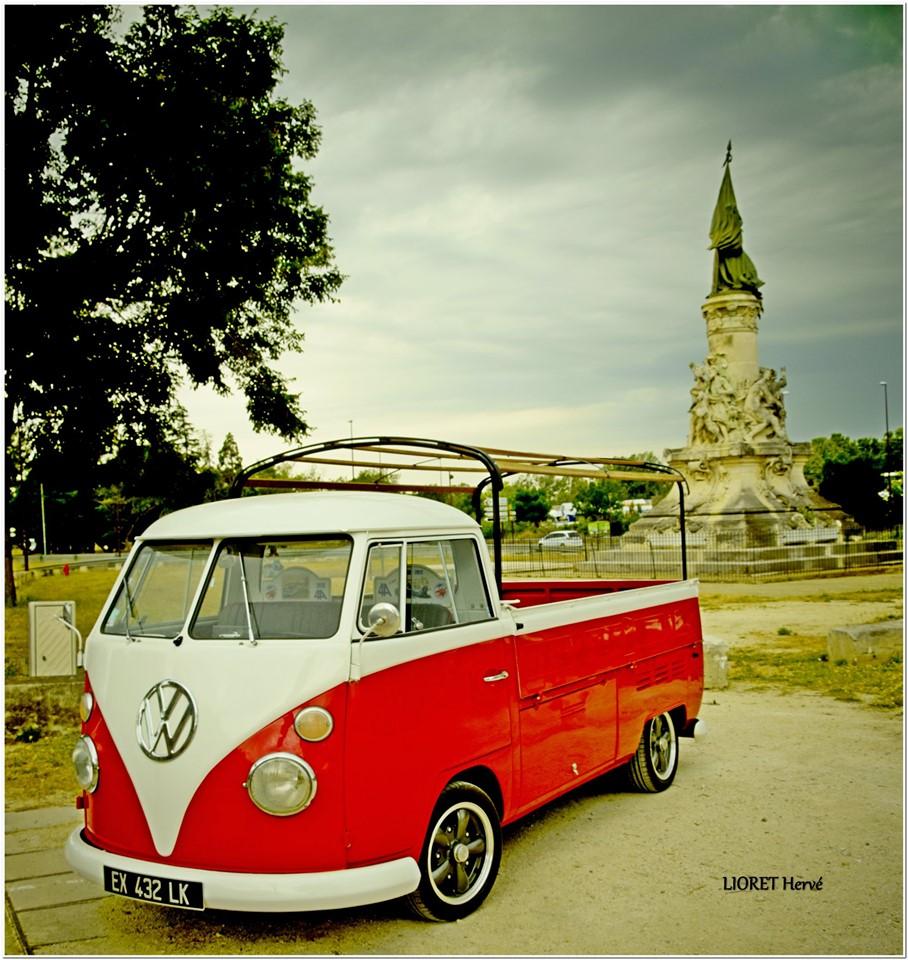 VW Combi split 1966