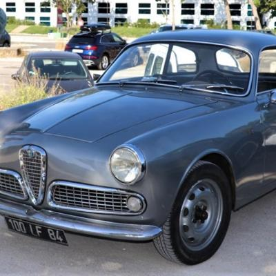 Alfa Romeo Gulietta Sprint 1960 Laurent T