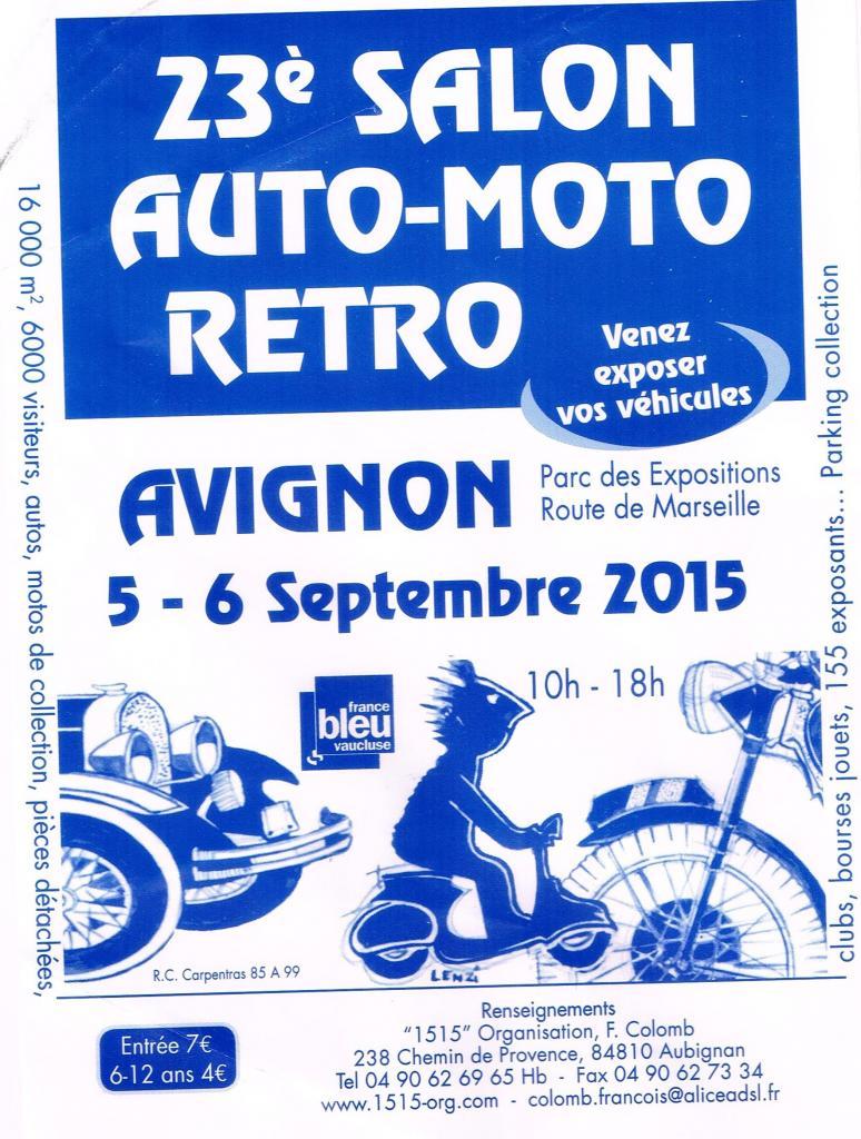 AUTO MOTO RETRO 5 & 6 septembre 2015
