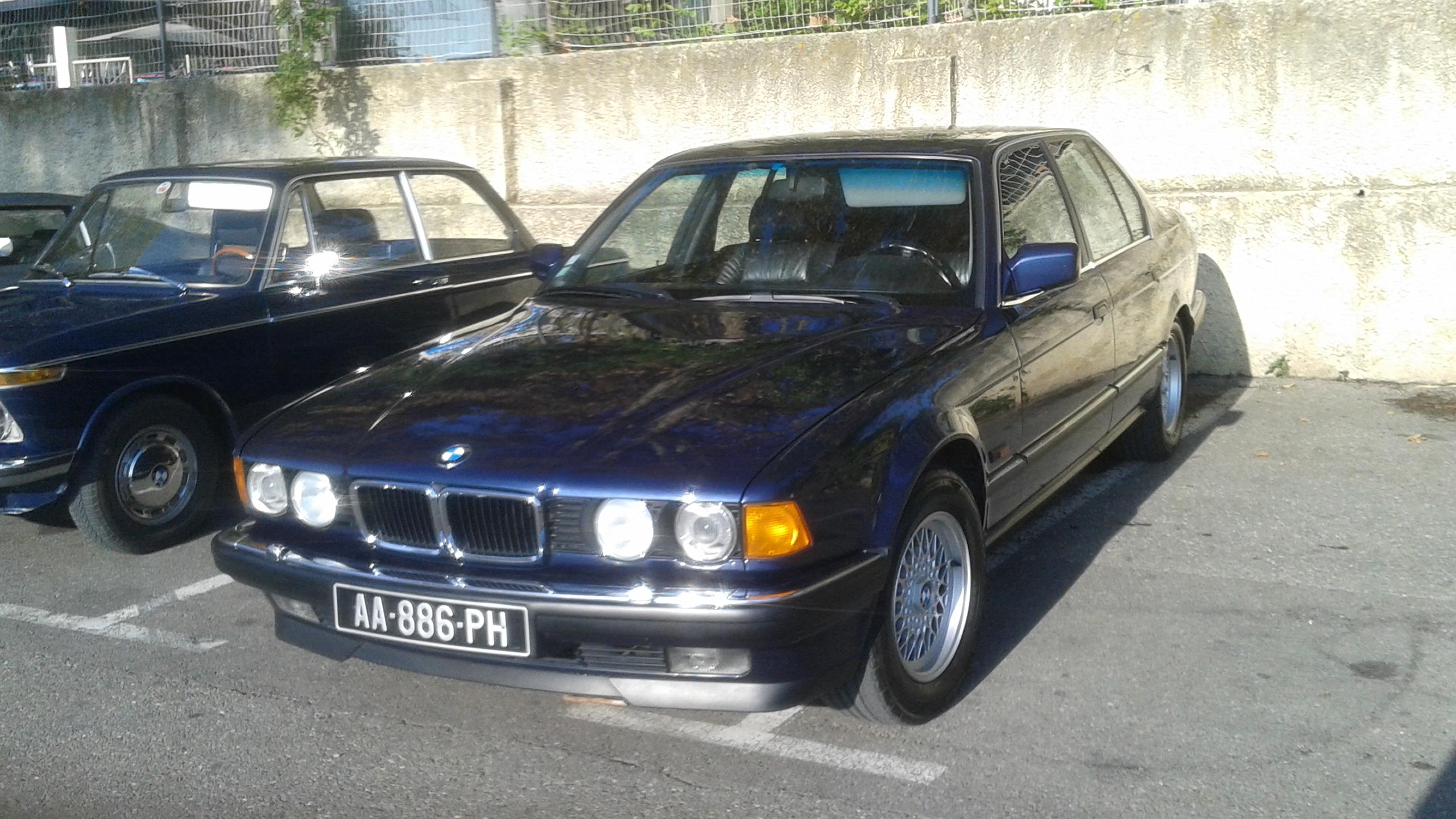 BMW e32 730 I 1982 Arnaud M