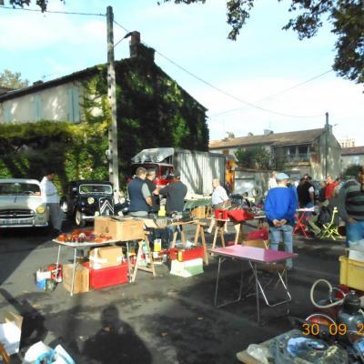 Vide garage: un beau fouillis