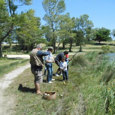 Lac: Initiation à la pêche
