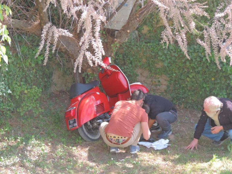 2014 Vigneronne Réparation sur la route