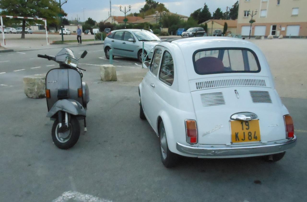 Les vendanges: 2 italiennes