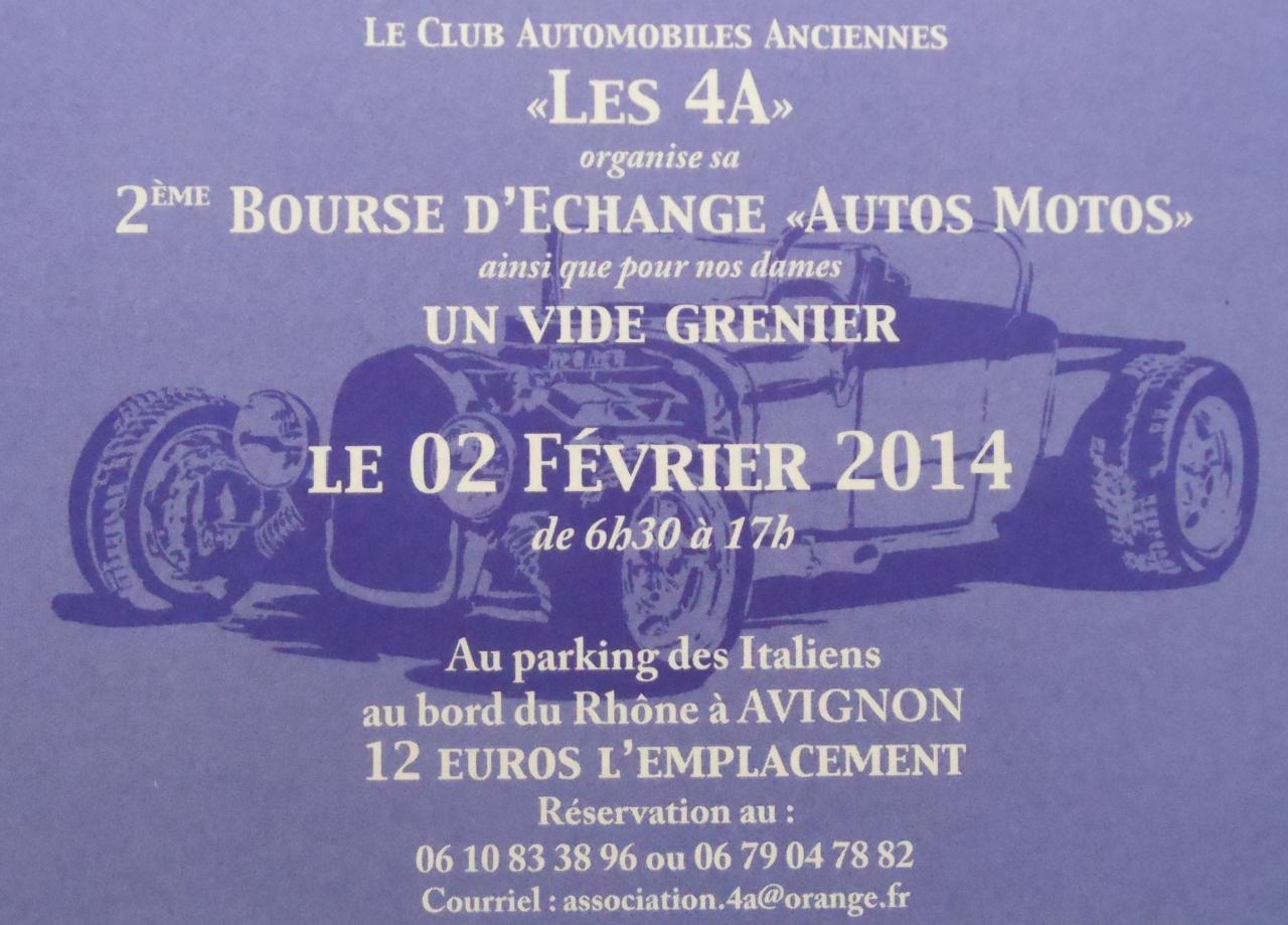 VIDE-GARAGES & GRENIERS 2 février 2014