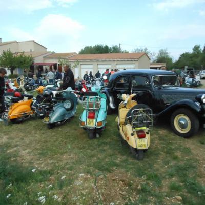 13 avril 2014 Vigneronne organisé par le Vespa Club