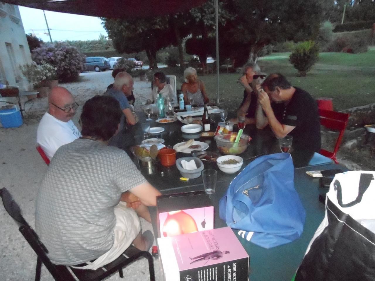 10 juillet chez Caroline et François
