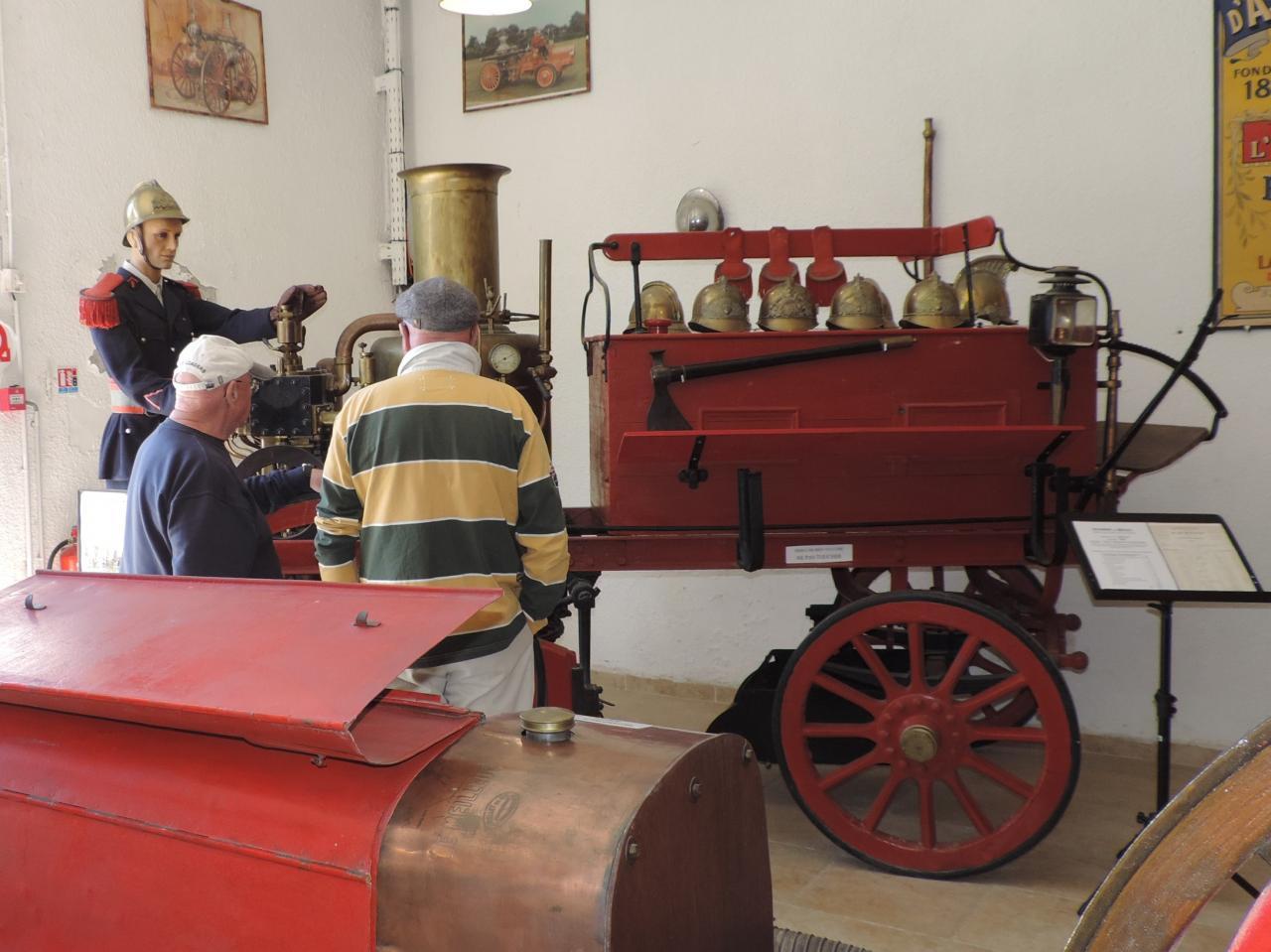 24 avril, Fontaine d'Eure & musée 1900