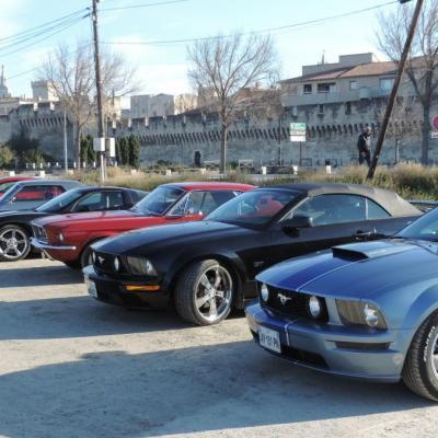 11 décembre . 22ème rassemblement avec un sympathique Club Mustang