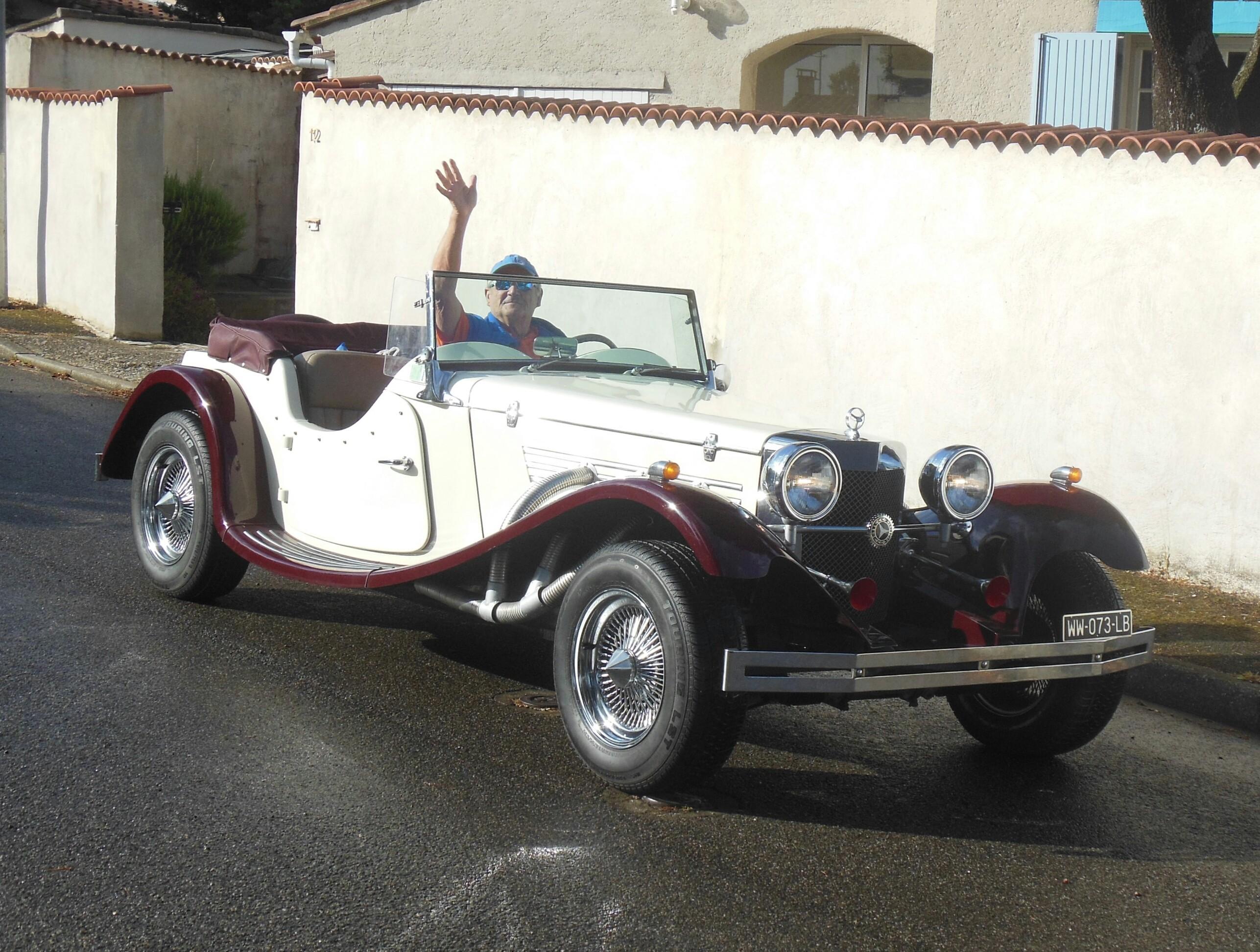 La Gazelle Mercedes d'Alain V.