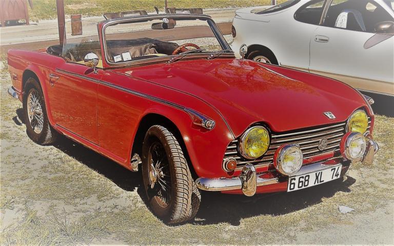 Triumph TR5 1968 François P