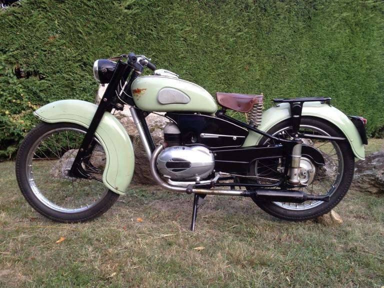 Riva Sport Industrie 125 N 1955 François C.