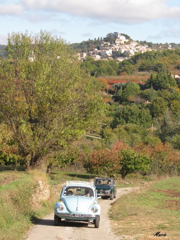 24 Octobre - Les villages du Lubéron