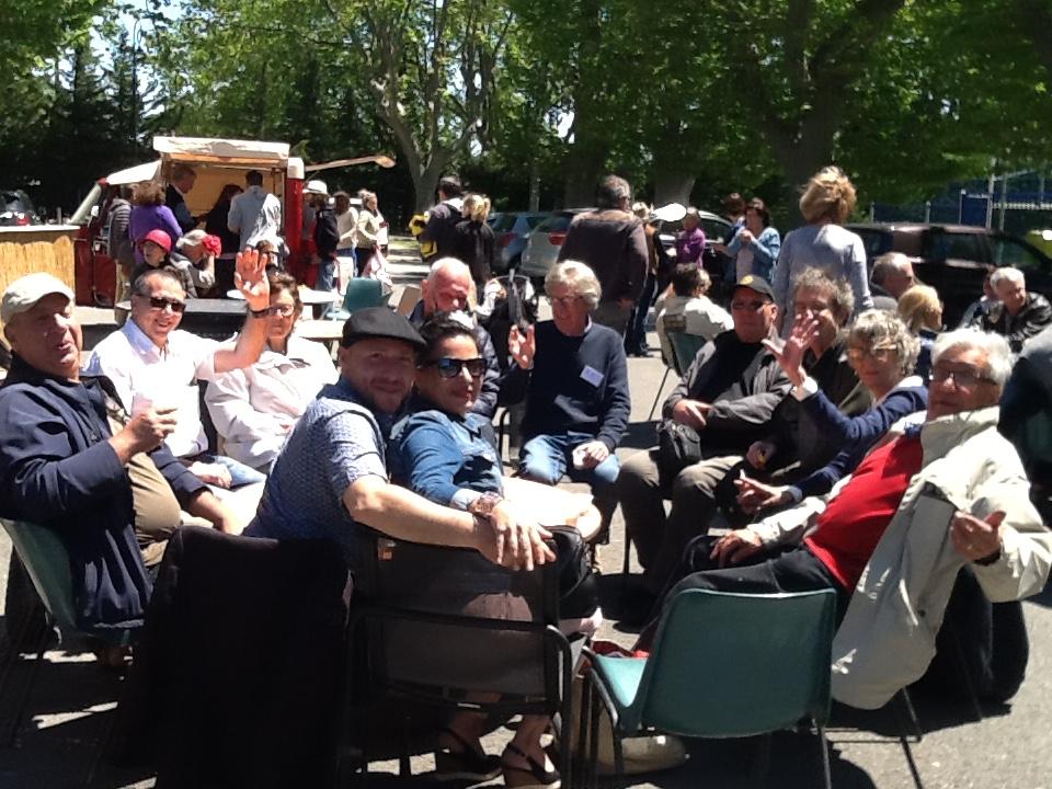 15 mai. Rassemblement inter-clubs à Eyguières