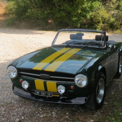 Triumph TR6  1973 Yves T
