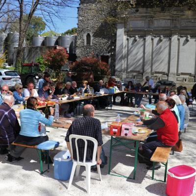 Sortie Saint Restitut 21 mars