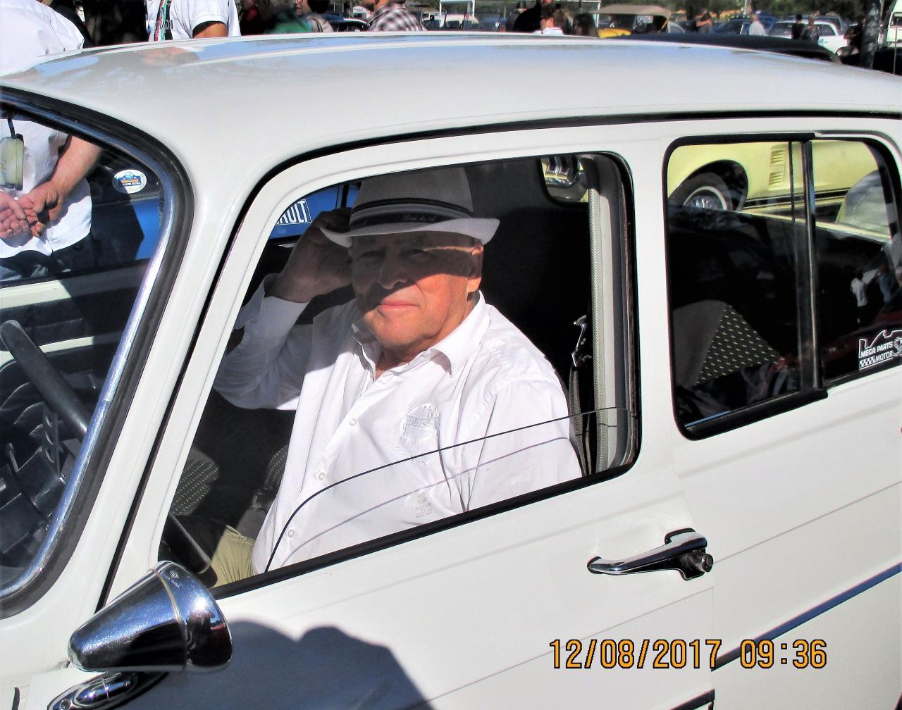 Jean Claude Andruet au volant