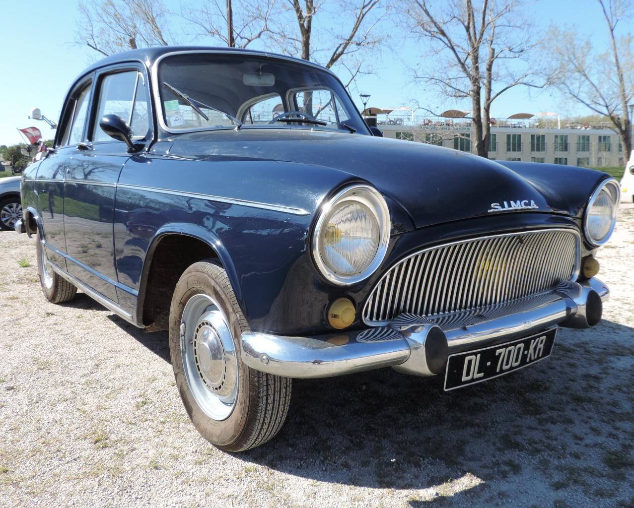 Simca P60 Montlhery 1962 Jean Pierre S