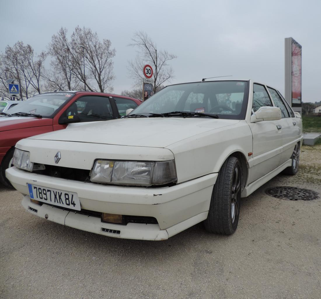 Renault R21 Turbo 1988 Pierre B