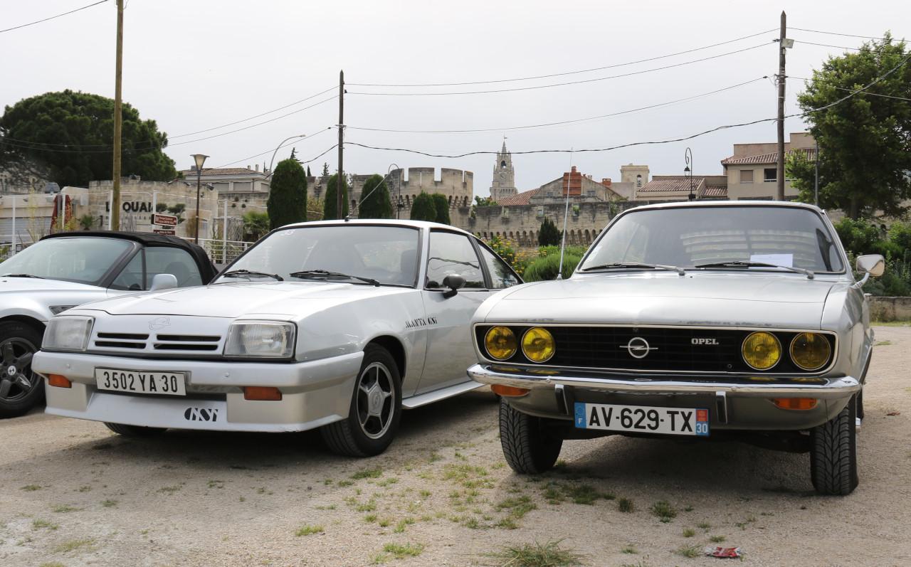 Opel Manta A et B