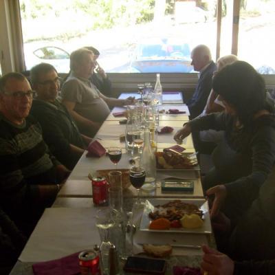 30 octobre. Restaurant du Grozeau