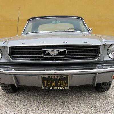 Ford Mustang cabriolet 1966 Yves M