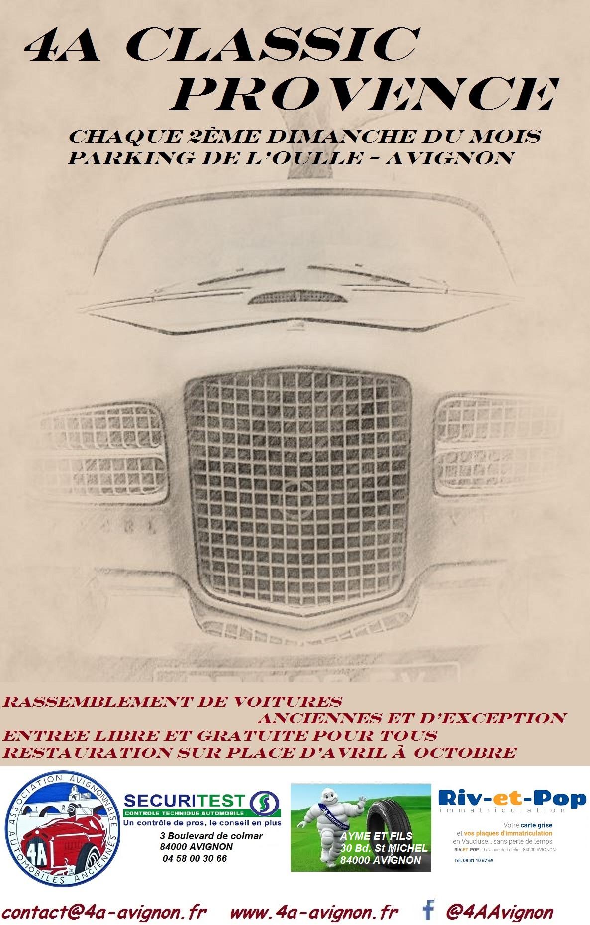 Affiche facel 2 avec pub