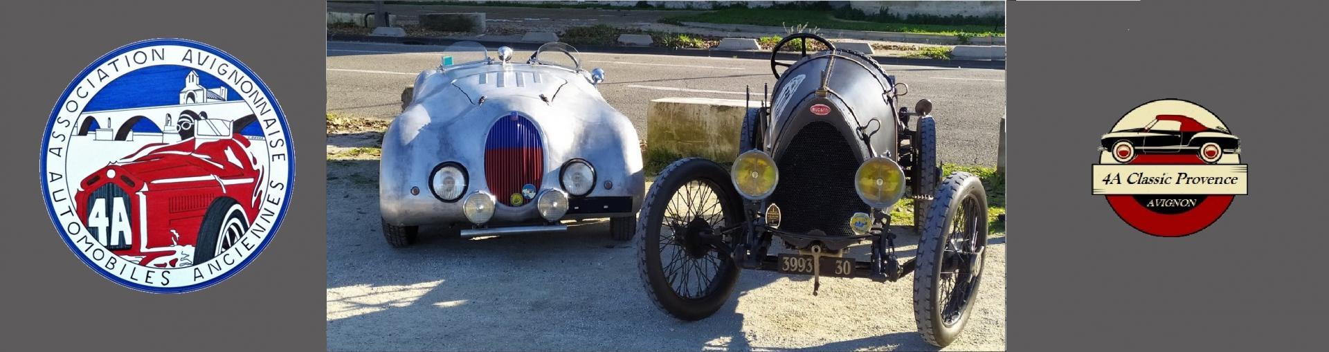 4A - Association Avignonnaise Automobiles Anciennes. Club d'autos anciennes d'Avignon et sa région
