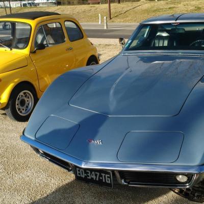 Fiat 500 corvette c3