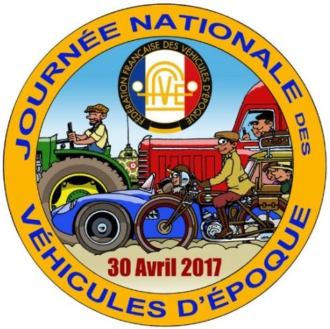 Logo journee nationale des vehicules depoque